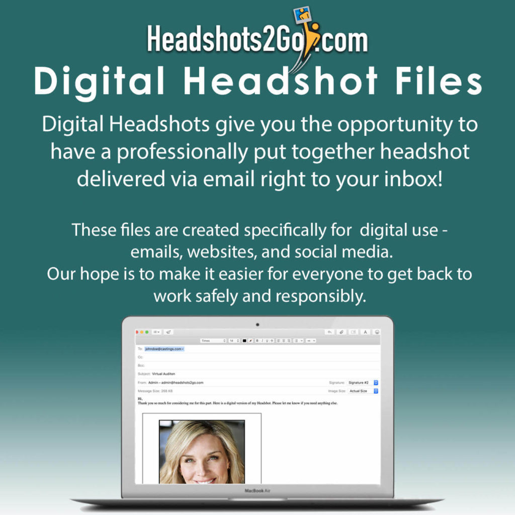 Digital Headshot Files