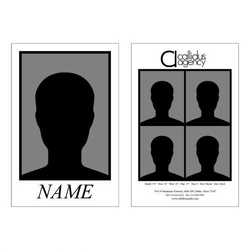 Callidus Agency Comp Card Template